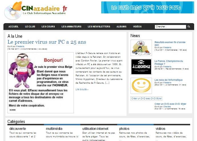 Le Club Informatique Nazadaire